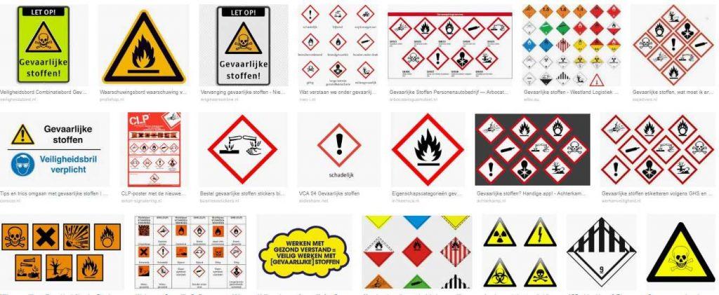 gevaarlijke stoffen eu