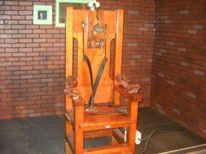 elektrocutie stoel