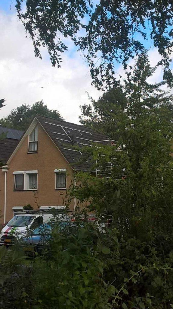 zonnepanelen geen valbeveiliging