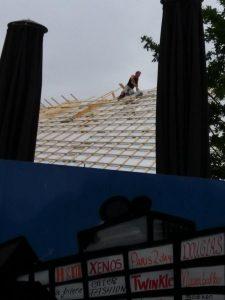 werken op dak
