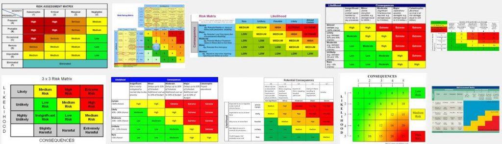risk assesment matrix vbs